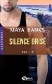 Couverture KGI, tome 09 : Silence brisé Editions Milady (Romance) 2017