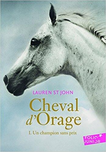 Couverture Cheval d'orage, tome 1 : Un champion sans prix