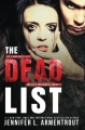 Couverture The Dead List Editions Autoédité 2017