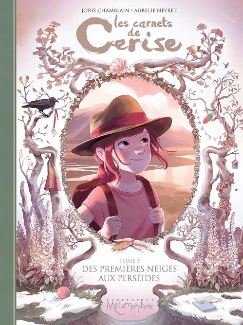 Couverture Les carnets de Cerise, tome 5 : Des premières neiges aux perséides