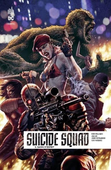 Couverture Suicide squad Rebirth, tome 2 : Sains d'esprit