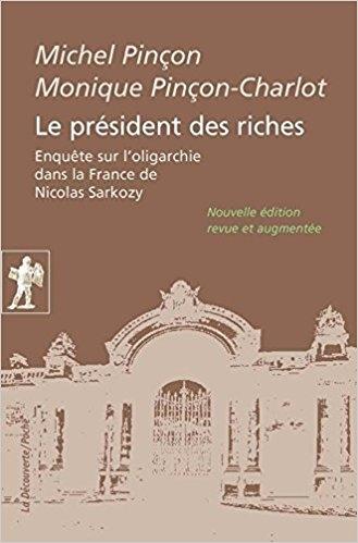 Couverture Le président des riches