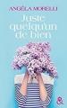 Couverture Juste quelqu'un de bien Editions Harlequin (&H) 2017