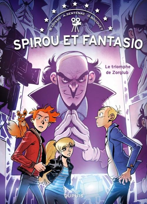 Couverture Une aventure de Spirou et Fantasio par... : Le triomphe de Zorglub