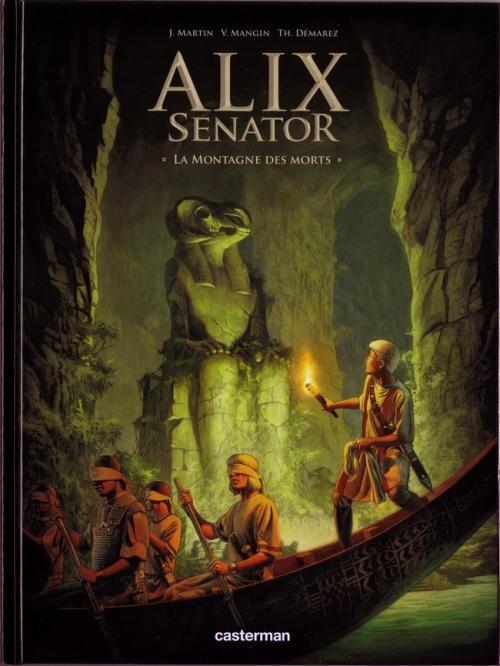 Couverture Alix Senator, tome 6 : La montagne des morts
