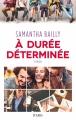 Couverture A durée déterminée Editions JC Lattès 2017