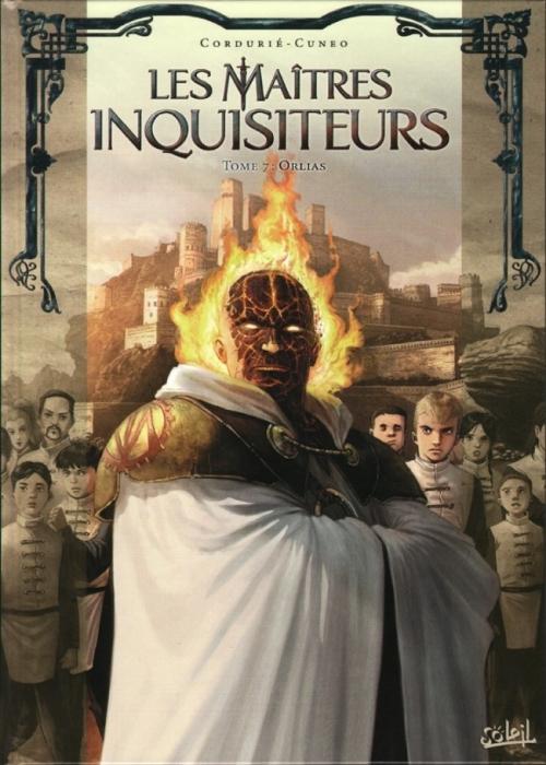 Couverture Les maîtres inquisiteurs, tome 07 : Orlias