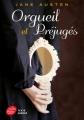 Couverture Orgueil et préjugés, abrégé Editions Le Livre de Poche (Jeunesse) 2011