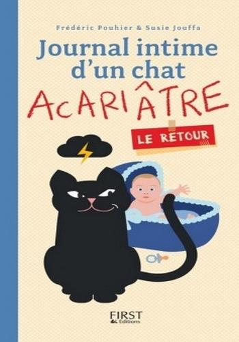 Couverture Journal intime d'un chat acariâtre, tome 2 : Le retour