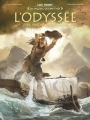 Couverture L'Odyssée (BD), tome 1 : La colère de Poséidon Editions Glénat (La sagesse des mythes) 2017