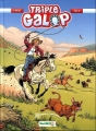 Couverture Triple galop, tome 10 Editions Bamboo 2015