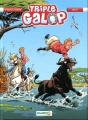 Couverture Triple galop, tome 12 Editions Bamboo 2016