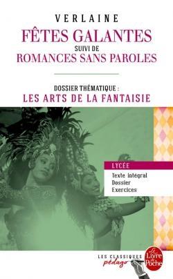 Couverture Fêtes galantes et autres poèmes, écrits sur Rimbaud