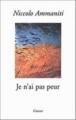 Couverture Je n'ai pas peur Editions Grasset 2002