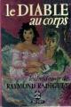 Couverture Le diable au corps Editions Le Livre de Poche 1976