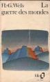 Couverture La Guerre des mondes Editions Folio  1972