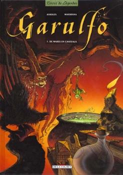 Couverture Garulfo, tome 1 : De mares en châteaux