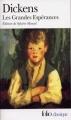 Couverture Les Grandes Espérances suivi de Le Mystère d'Edwin Drood et de Récits pour Noël Editions Folio  (Classique) 1999
