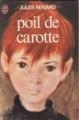 Couverture Poil de carotte Editions J'ai Lu 1978