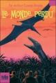 Couverture Le monde perdu Editions Folio  (Junior) 2009