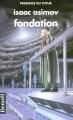 Couverture Fondation, tome 3 : Le Cycle de Fondation, partie 1 : Fondation Editions Denoël (Présence du futur) 1998