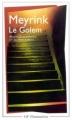 Couverture Le Golem Editions Flammarion (GF) 2003