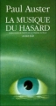 Couverture La musique du hasard Editions Actes Sud 1991