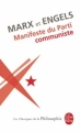 Couverture Manifeste du parti communiste Editions Le Livre de Poche (Les classiques de la philosophie) 2008