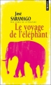 Couverture Le voyage de l'éléphant Editions Points 2010