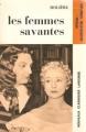 Couverture Les Femmes savantes Editions Larousse (Nouveaux classiques) 1971