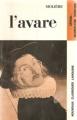 Couverture L'Avare Editions Larousse (Nouveaux classiques) 1971