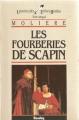 Couverture Les fourberies de Scapin Editions Bordas (Univers des lettres) 1988