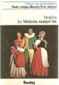 Couverture Le médecin malgré lui Editions Bordas (Univers des lettres) 1979