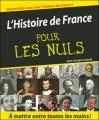 Couverture L'Histoire de France pour les Nuls Editions First 2004