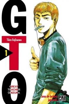 Couverture GTO, tome 01