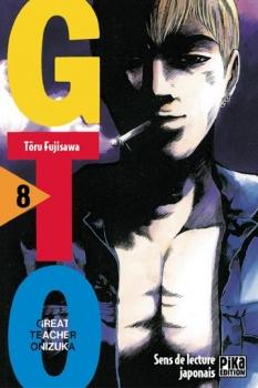 Couverture GTO, tome 08