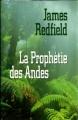 Couverture La prophétie des Andes Editions Québec Loisirs 1995