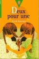 Couverture Deux pour une Editions Le Livre de Poche (Jeunesse - Junior) 1998