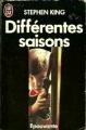 Couverture Différentes Saisons Editions J'ai Lu (Epouvante) 1988