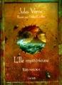 Couverture L'île mystérieuse Editions Gründ 2005