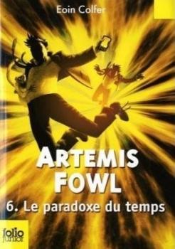 Couverture Artemis Fowl, tome 6 : Le Paradoxe du temps