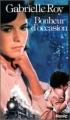 Couverture Bonheur d'occasion Editions Stanké 1978