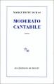 Couverture Moderato cantabile Editions de Minuit 1984