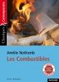 Couverture Les combustibles Editions Magnard (Classiques & Contemporains) 2017