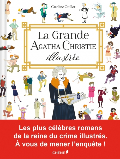 Couverture La grande Agatha Christie illustrée