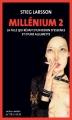 Couverture Millénium, tome 2 : La fille qui rêvait d'un bidon d'essence et d'une allumette Editions Actes Sud (Actes noirs) 2015