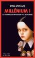 Couverture Millénium, tome 1 : Les hommes qui n'aimaient pas les femmes Editions Actes Sud (Actes noirs) 2015