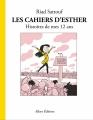Couverture Les cahiers d'Esther, tome 3 : Histoires de mes 12 ans Editions Allary 2017