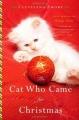 Couverture Un chat est venu pour Noël Editions Back Bay books 2001