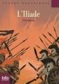 Couverture L'Iliade / Iliade Editions Folio  (Junior - Textes classiques) 2014